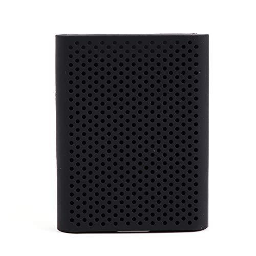 Docooler Festplatte rutschfeste Schutzhülle Kratz- und stoßfest Schutzhülle SSD Hülle für Samsung T5 T3 250 / 500G / 1T / 2T Schwarz/Blau/Weiß