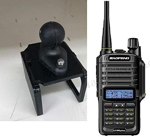 4 years warranty SlipGrip RAM Holder Beauty products for Baofeng Plus Two-Way Radio UV-9R
