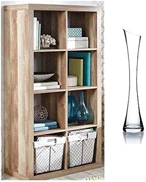 Better Homes Gardens 8 Cube Storage Organizer With Vase Weathered