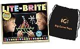 Big Game Toys~LITE Brite Magic Screen Light Bright (Premium Set) Includes BGT Back Pack/Storage Bag