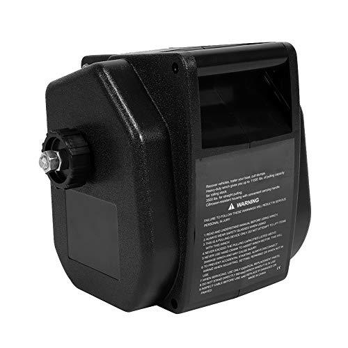 Torno Cable Eléctrico 12V de Barcos 4990 KG Cabrestante con Mando A Distancia