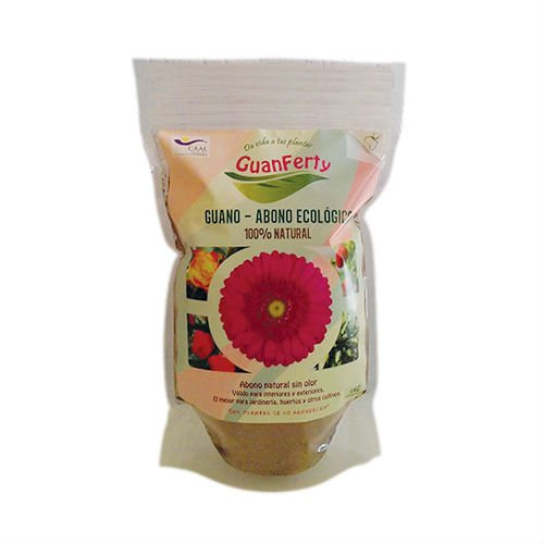 Fertilizante en Polvo/Guano de Murciélago Ecológico Guanfe