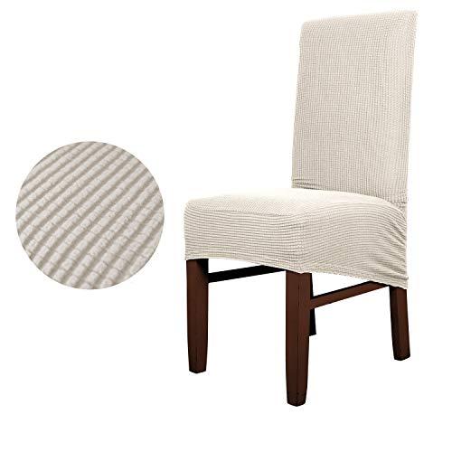 TAYINIO Polar Fleece Stoff XL Größe Lange Rückseite Plaid Stuhlbezug Sitzbezüge für Restaurant Hotel Party Bankett Wohnkultur