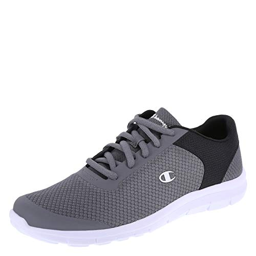 Champion Grey Black Men's Gusto Performance Cross Trainer 9.5 Wide