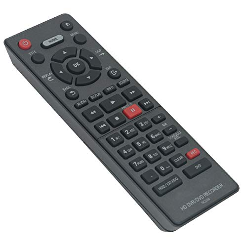 NC266 NC266UH Replacement Remote Control Work with Magnavox DVD HD DVR Recorder MDR865H MDR867H MDR868H