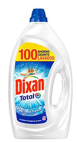 Dixan Detergente Gel Total - 100 Lavados (5L)