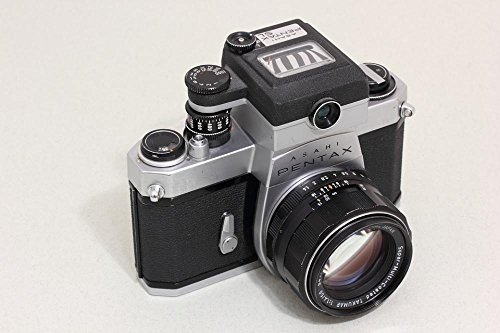 Laminated 36x24 inches Poster: Asahi Pentax Optical Japan SLR 35Mm Film Camera Takumar Lens Reflex Body Photo Equipment Camera Photography Spotmatic Spotmatic Sl Chrome Light Meter Coupled