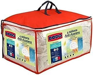 Dodo Couette 4 Saisons Anti-acariens - 220 x 240 cm - Blanc