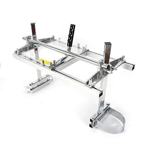 Chainsaw Mill HaroldDol Draagbare kettingzaag, 14-24 inch, mobiel aluminium, zaagwerk, hout, zaaghulp, motorkettingzaag