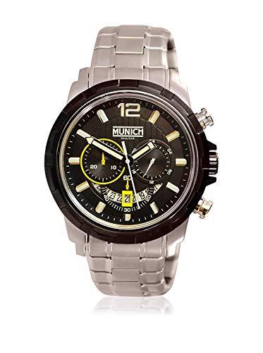 Munich Reloj Analógico para Unisex Adultos de Cuarzo con Correa en Acero Inoxidable MU+105.1A