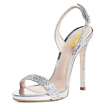 Best silver slingbacks heels Reviews