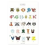 Poster, Flamingo, Biene, Affe, Jaguar, Krebs, Qualle,