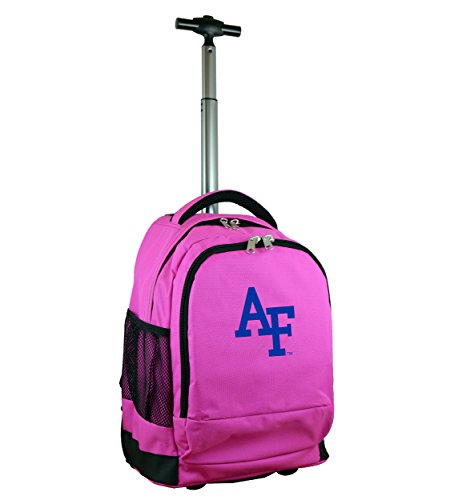 Denco NCAA Air Force Falcons Wheeled Backpack, 19-inches, Pink