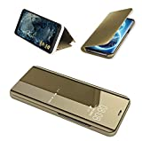 FullProtecter Coque Compatible Samsung Galaxy S7 Edge Case Housse Support à Rabat Clear View Cover...