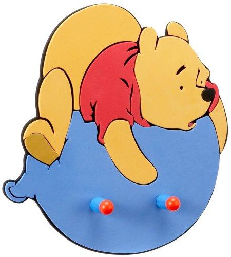 Decofun 23220 - Appendiabiti Winnie De Pooh, 2 Ganci