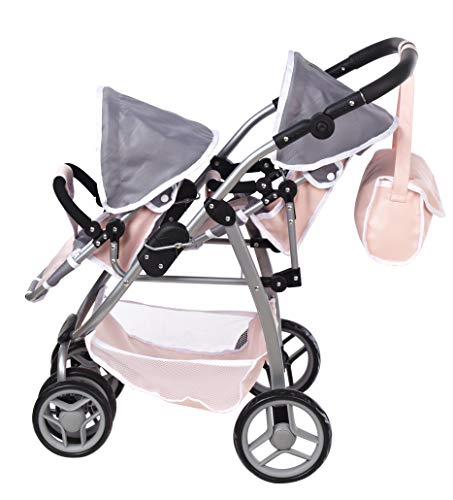 Me & My Doll Collection Deluxe Zwilling Puppenwagen / Kinderwagen