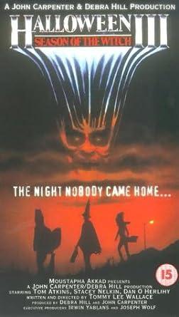 Halloween 3 - Season Of The Witch [VHS]: Amazon.co.uk: DVD & Blu-ray