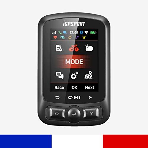 IGPSPORT iGS620 – de fietscomputer GPS verbonden – Bluetooth WiFi Ant+ zonder kabel – prestaties trapsnelheid en live tracking – Strava New iGS618