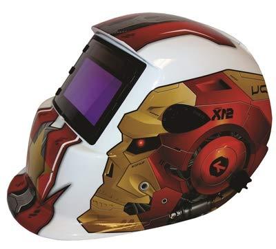 Powerweld Auto Darkening Graphic Helmet, Klown - 9855G3