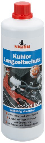 Nigrin 73943 Kühler-Schutz Langzeit Konzentrat, Kühler-Frostschutz, 1 L, für Benzin- und Dieselmotoren