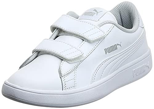 PUMA Smash V2 L V PS, Zapatillas, Blanco White White, 29 EU