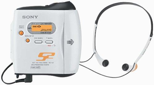 Sony MZ-S1 S2 Sports Net MD MiniDisc Player