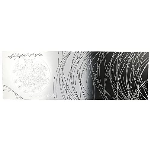 Cuadro Pintado a Mano Abstracto Cuadro para Pared Decoración Salon Dormitorio Cuadro Acrilico 40X120 cm - Estilo B