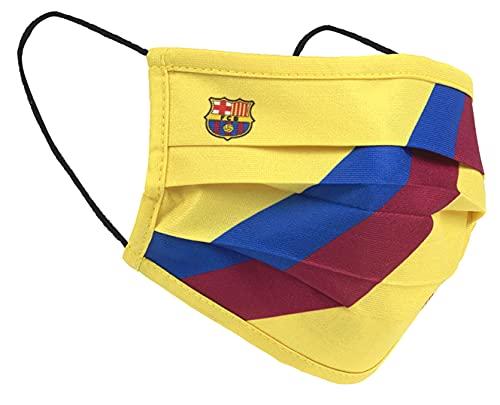 FC Barcelona Mascarilla Oficial Vintage - NIÑOS