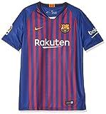 NIKE FCB Y Nk BRT Stad JSY SS Hm Camiseta, Unisex niños, Azul (Deep Royal Blue/University Gold), L