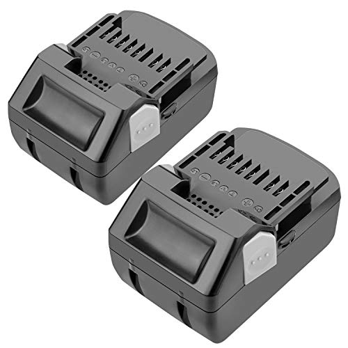 [2Pack] 18V 5.0Ah Replacement Lithium-ion Battery for Hitachi BSL1830 BSL1815X EB1814SL DS18DSAL 33055 330067 330068 330139 330557 Drill Cordless Tool