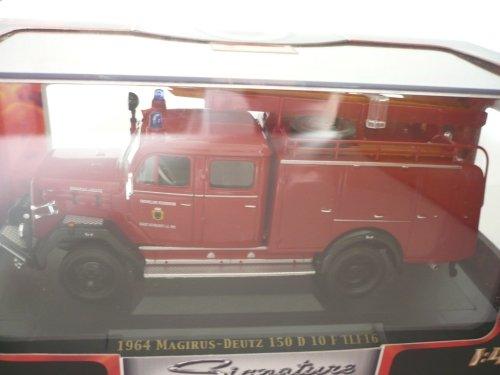 Magirus 150 D 10 F TLF16, Feuerwehr Neumarkt, 1964, Modellauto, Fertigmodell, Yat Ming 1:43