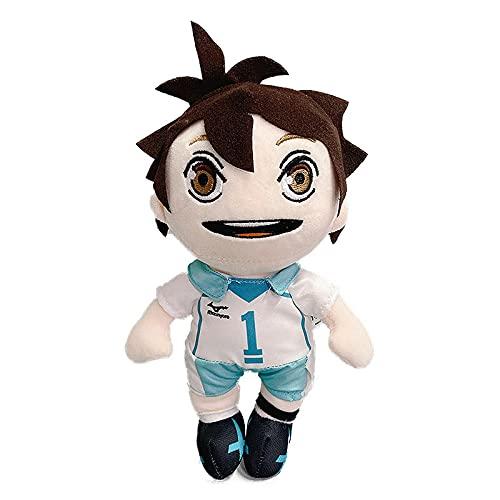 20cm Anime Kawaii Toys Toru Oikawa Hinata Shoyo Kageyama Tooru Kozume KENMA Muñecas de relleno suave lindo