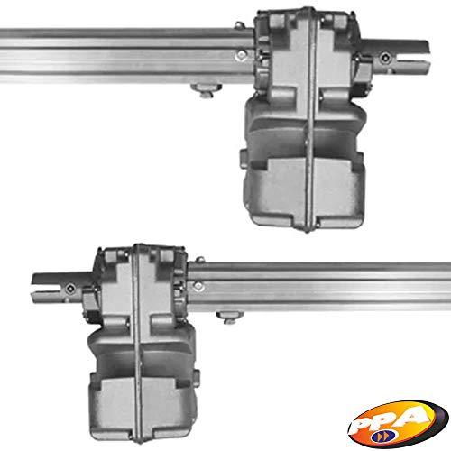 Kit Motor Portão Eletrônico Pivotante Duplo home Ppa 1/4