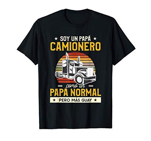 idea de regalo del día del padre para un conductor de camión Camiseta