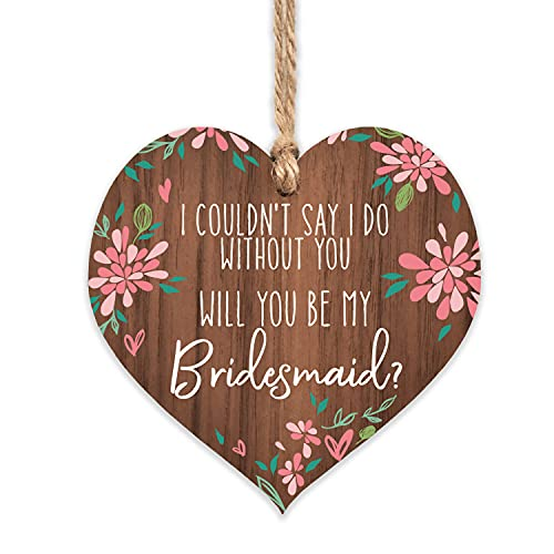 Will You be My Bridesmaid Gifts | Proposal Floral Ornament for Women |...