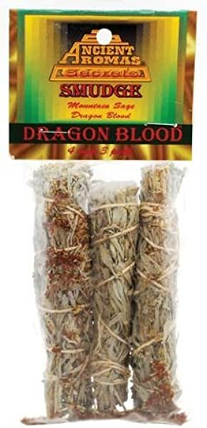 Dragon S Blood Smudge Stick 3 Pack