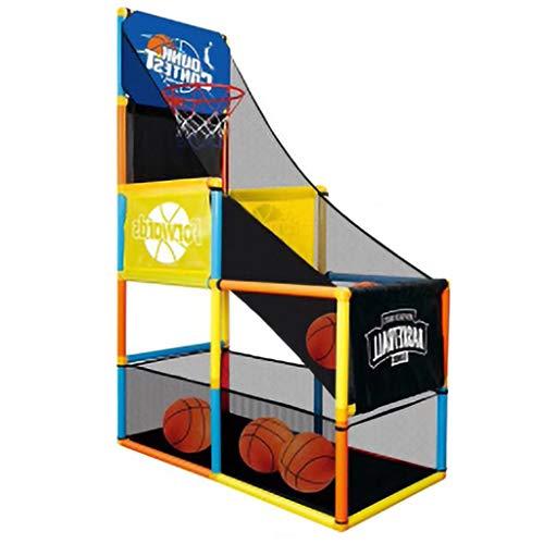 LYH Basketball-Arcade-Spiel, Basketballkorb für Kinder, Shootout-Basketball-Arcade-Spiel, Basketballspiel mit Hoop-Trainingssystem, Indoor-Kindersportspielzeug