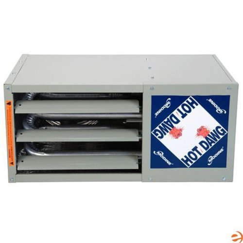 Modine Hot Dawg HD - 30,000 BTU - Unit Heater - NG - 80% AFUE - Power Vented - Aluminized Steel Heat Exchanger