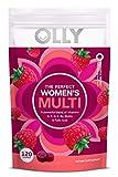 OLLY Women's Multivitamin Gummy, Vitamins A, D, C, E, Biotin, Folic Acid, Berry Flavor, 60-Day Supply - 120 Count