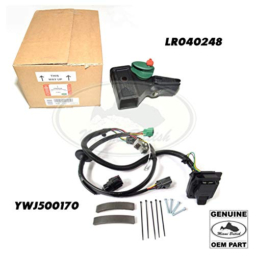 Why Should You Buy Miami British Tow Hitch + Harness Wires KIT Range Sport 06-09 LR040248 YWJ500170 ...