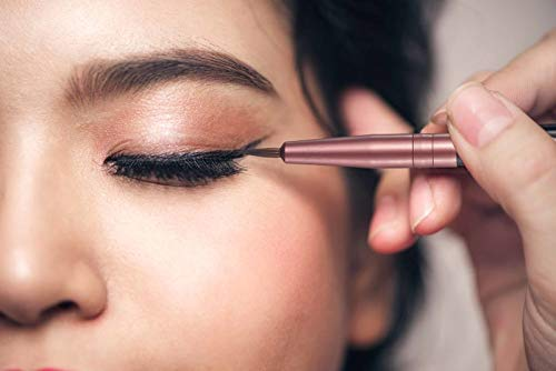 KOOBA Makeup Fine Point Eyeliner Brush, Portable Eye Gel Foundation Brush, Beauty Cosmetic Tool for Professional and Travel