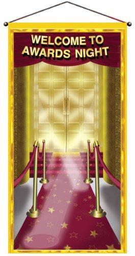 Beistle Awards Night Door/Wall Panel, Multicolor, One siz