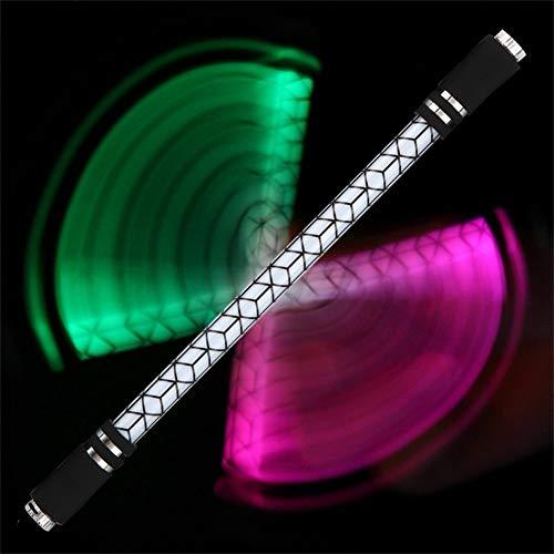 Gigicloud Cool Spinning Pen A31 - Bolígrafo giratorio luminoso para juegos