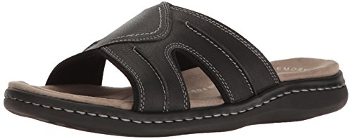 Dockers Mens Sunland Casual Slide Sandal Shoe Black
