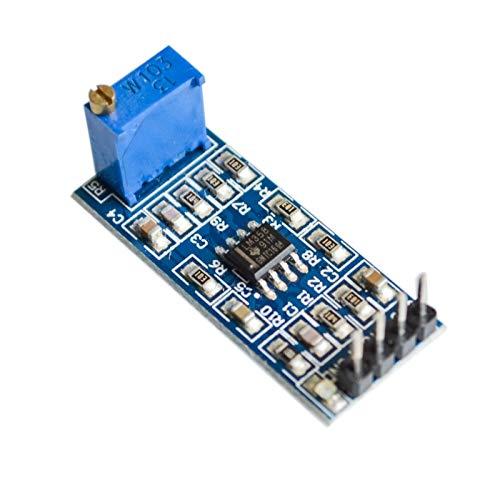 KASILU Dlb0109 LM358 100 Veces Ganancia Amplificador de amplificación Amplificador Amplificador operable Módulo 5V-12V Alto Rendimiento
