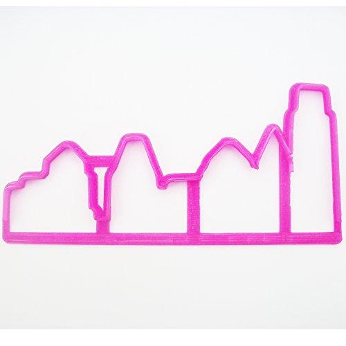 Skyline Fondant/Cookie Cutter pour Décoration de Gâteau Fondant
