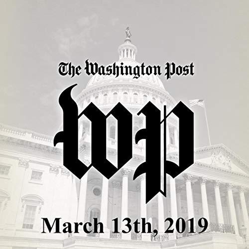 March 13, 2019 copertina