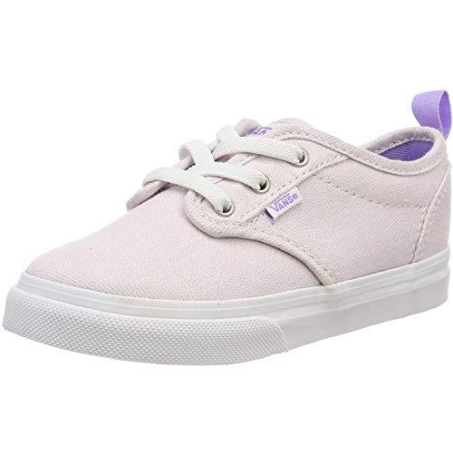 Vans Jungen Atwood Slip-on Sneaker, Pink ((Glitter) Pink Vi4), 24.5 EU