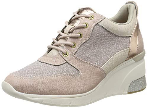 MUSTANG Damen 1303-301-555 Sneaker, Rot (Rose 555), 39 EU