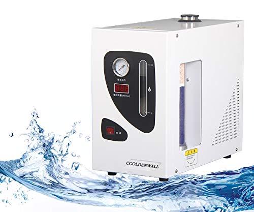 CGOLDENWALL H500 Lab Hohe Reinheit Wasserstoff Gas Generator ca.99,99% mit hoher Ausgangsdruckstabilität ≤ ± 0,001 MPa mit Digitalanzeige und PC-Polycarbonatrohr&Vollautomatischer Schutz (500ml)